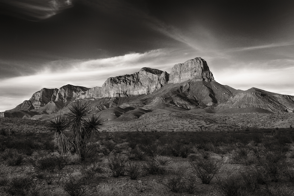 El Capitan and the Guadalupe Mountains National Park, Texas